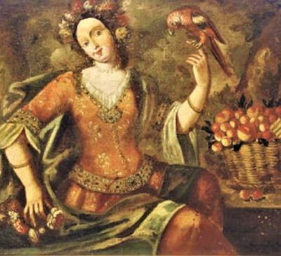 18C Spring Allegory from the Italian School