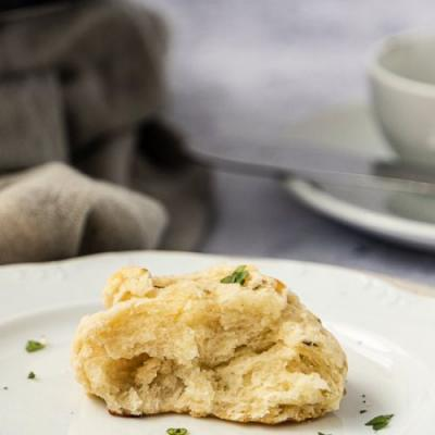 Yummy Cheese Biscuit With Herbs