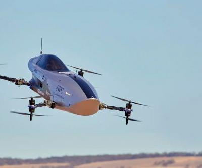 Airspeeder says it had the first successful test flight for its electric flying racecar