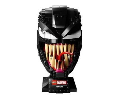 Marvel Teams up With LEGO for Menacing Venom Mask