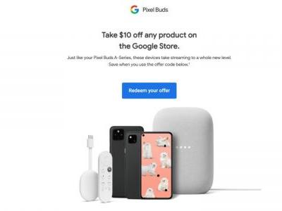 Some Pixel Buds A-Series owners are getting a $10 Google Store credit