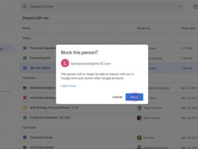 Google is finally doing something about Google Drive spam