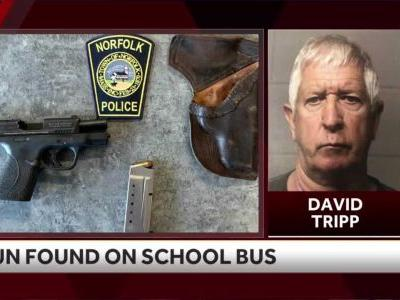 Bus driver accused of having gun on school bus