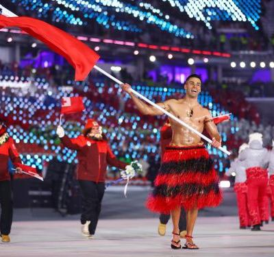 Remember that shirtless, oiled up Tongan Olympian? He's back, and ready to inspire in 2021