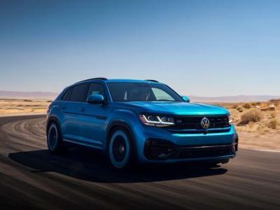 VW Shoved The Golf R Engine In The Atlas Cross Sport To Create The Atlas Cross Sport GT Concept