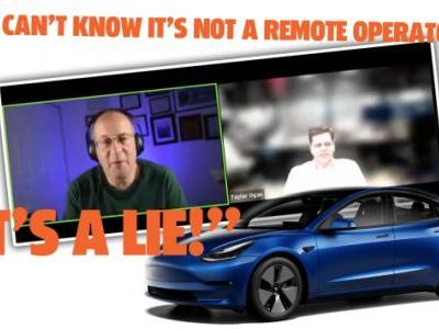 Listen To A Committed Elon/Tesla-Stan Make Baseless Claims That Other AV Companies Are Cheating