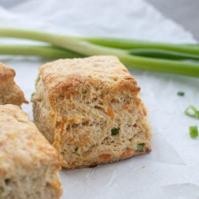 Green Onion and Gruyere Biscuits