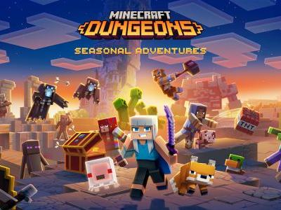 Minecraft Dungeons is getting seasons, a battle pass and more