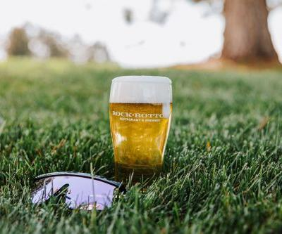 Relax and Replenish with Rock Bottom's New Pool Hop Pilsner
