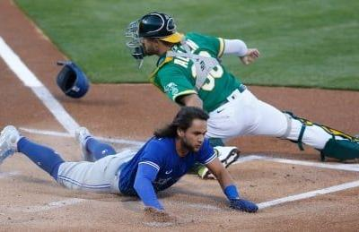 Blue Jays lean on small ball in 8th-inning rally to upend Athletics
