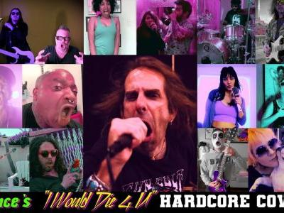 """Watch Members Of Lamb Of God, Quicksand, Integrity, More Cover Prince's """"I Would Die 4 U"""""""
