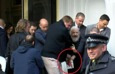 National security & imperial presidency: What book Julian Assange was reading during his arrest