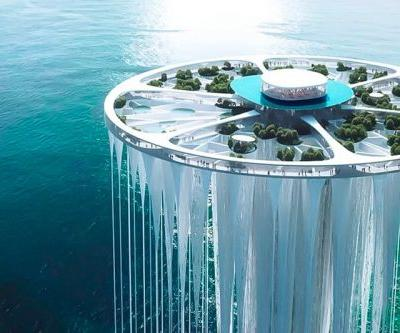 Sou Fujimoto Designs a Ethereal Tower of 99 Floating Islands