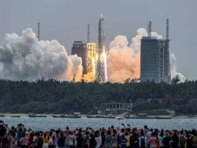 If A Piece Of A Huge Chinese Rocket Falls In Your Yard This Weekend, Do You Get To Keep It?