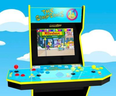 Arcade1Up Crafts a Miniaturized Version of 'The Simpsons' Arcade Cabinet