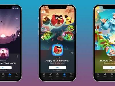 Alto's Odyssey: The Lost City, Angry Birds Reloaded, and more coming soon to Apple Arcade