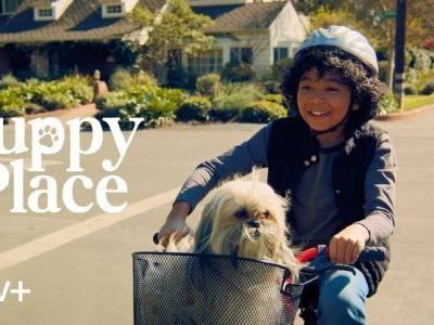Apple's new children's series 'Puppy Place' is now streaming on Apple TV+