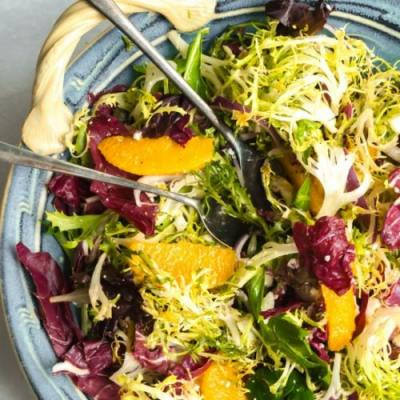 Orange & Frisee Salad