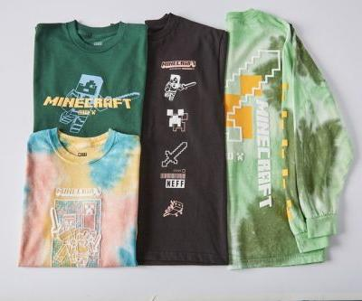 NEFF Leaps Into the World of Minecraft With Otherworldly Custom Dye Collection