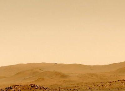 Ingenuity helicopter explores Mars on its own for the first time