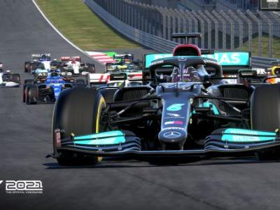 Checking out F1 2021 online with the Logitech G29 Racing Wheel
