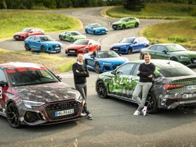 Audi Teases New RS3 Sedan And Wagon In Sustainability Report