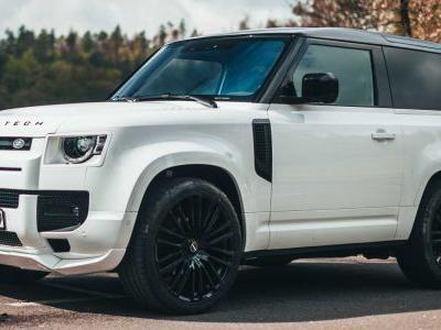 Startech Give Land Rover Defender Extra Body and Wheel Size