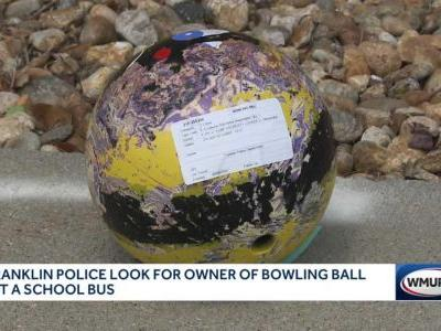 No one injured when bowling ball crashes through school bus window in Franklin