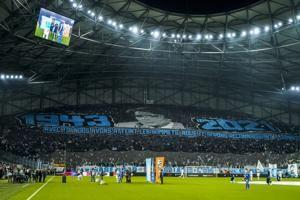 Marseille fans pay their Tapie tributes, Lens and Nice lose
