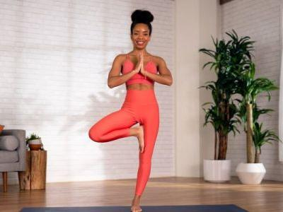 One Simple Yoga Pose That Opens Up Your Hips & Works Your Balance