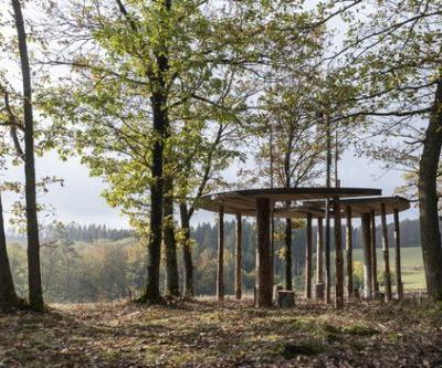 Heidentempel Pavilion / Christoph Hesse Architects