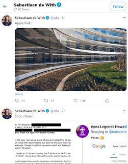 Did Epic Games CEO Tim Sweeney get trolled from Apple Park during App Store antitrust trial? Suspicious Twitter activity detected