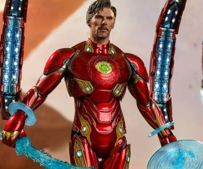 Doctor Strange's Iron Man 'Avengers: Endgame' Concept Art Is Getting Its Own Hot Toys Figure