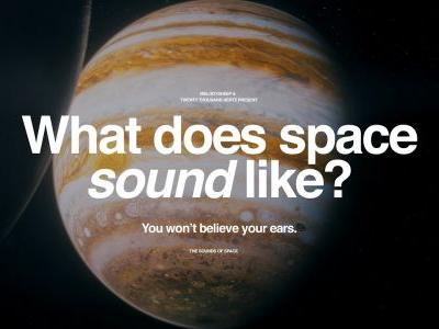 The Sounds of Space: An Interplanetary Sonic Journey