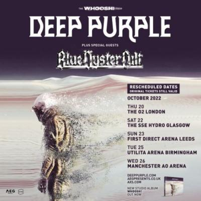 DEEP PURPLE's U.K. Tour Pushed Back To October 2022, Two Months After IAN GILLAN's 77th Birthday