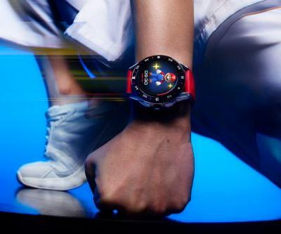 TAG Heuer Teams Up With Nintendo For Limited-Edition Super Mario Connected Timepiece