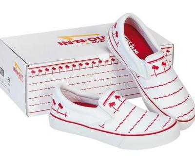 In-N-Out Burger Celebrates Signature Drink Cup With Slip-On Shoe Release