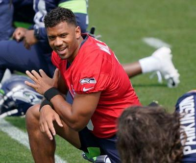 Russell Wilson rejects claim he requested trade from Seahawks