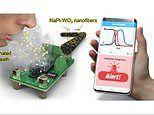 Thumb-sized device quickly 'sniffs out' bad breath