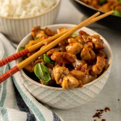 Taiwanese 3-Cup Chicken