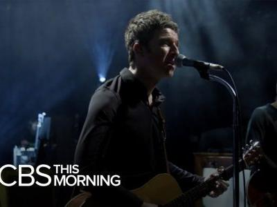 Watch Noel Gallagher's Interview & Performance On CBS This Morning