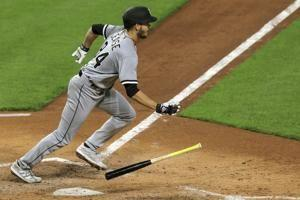 Will wonders never Cease? Chisox pitcher's bat, arm top Reds
