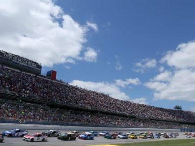 You Can Do Two Free Laps Around Talladega If You Get The Vaccine