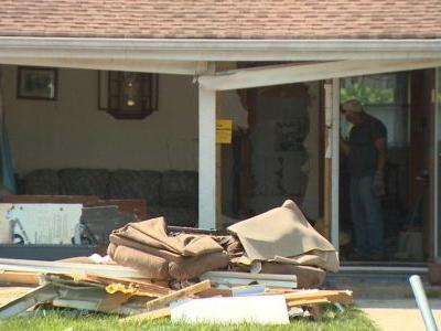 Brooklyn Park man dies after car crashes into house, police say