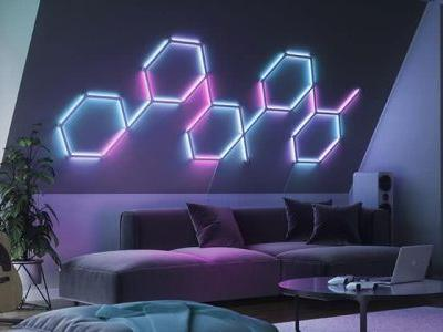 The New Nanoleaf Lines Smart Lights Are Pure Magic
