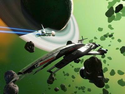 No Man's Sky welcomes Mass Effect with the addition of the Normandy
