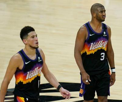 Suns picked worst time for first real playoff adversity