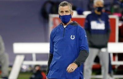 Colts coach Frank Reich tests positive for COVID-19, expected to miss start of camp