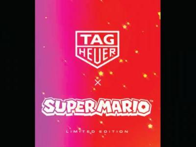 TAG Heuer x Super Mario Collaboration Reveal Set For Tuesday