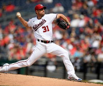 Nats ace Scherzer scratched with triceps discomfort